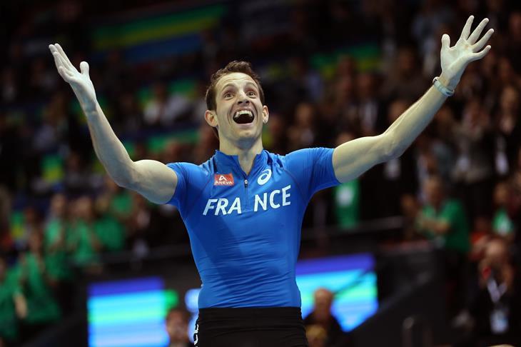 Renaud Lavillenie Pole Vault World Record Spikes