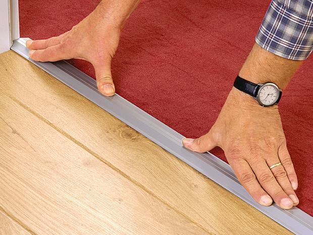 So verlegen Sie lose Teppichböden BAUHAUS - laminat verlegen tur