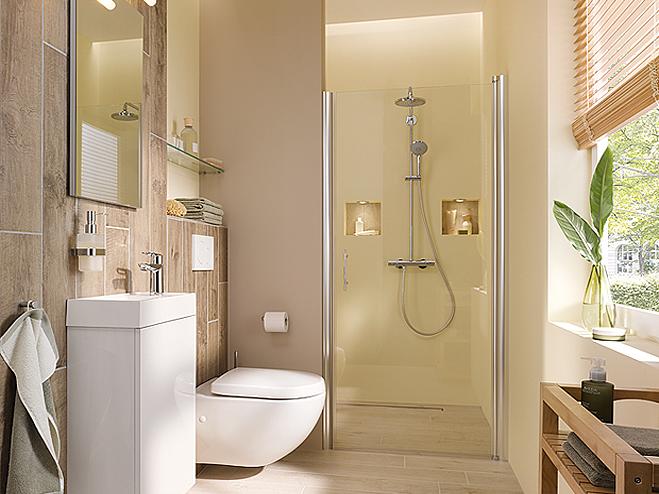 Badideen für kleine Bäder BAUHAUS - badideen fur kleine bader