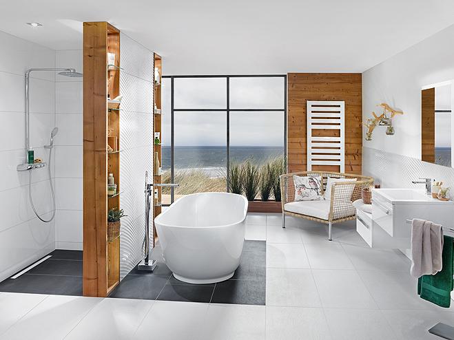 BÄDERWELT BAUHAUS - badezimmer mit sauna