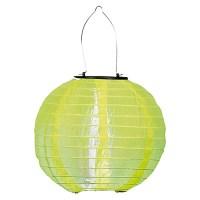 BAUHAUS Solarleuchte Lampion (Gelb, Leuchtdauer: 8 h ...