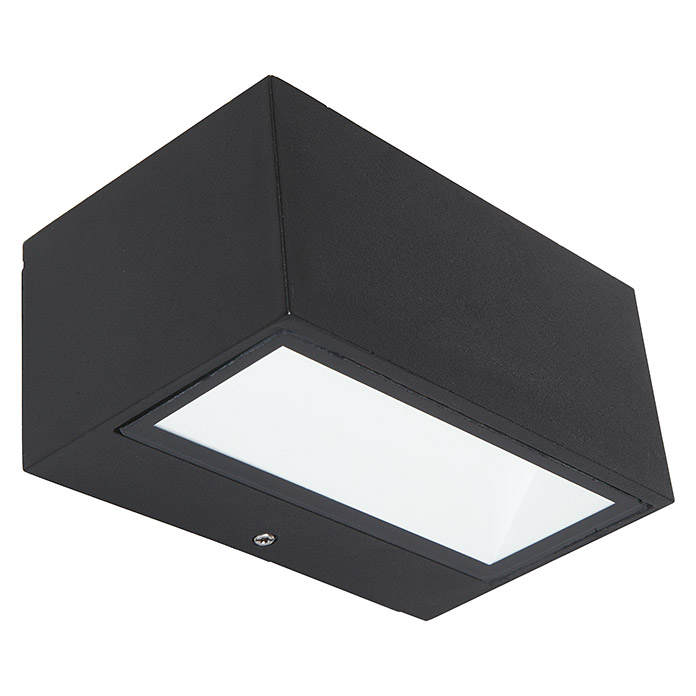 Außenwandleuchte Reno Up/downlight Ip54 Anthrazit 5 Watt Lutec Led-außenwandleuchte Gemini (2-flammig, 9 W