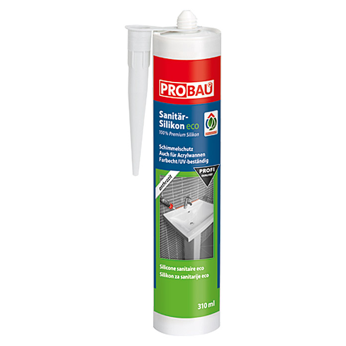 Bad Silikon Anthrazit Probau Eco Sanitär-silikon (anthrazit, 310 Ml) | Bauhaus