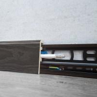 LOGOCLIC Sockelleiste K60 (Dover, 2,4 m x 21 mm x 60 mm ...