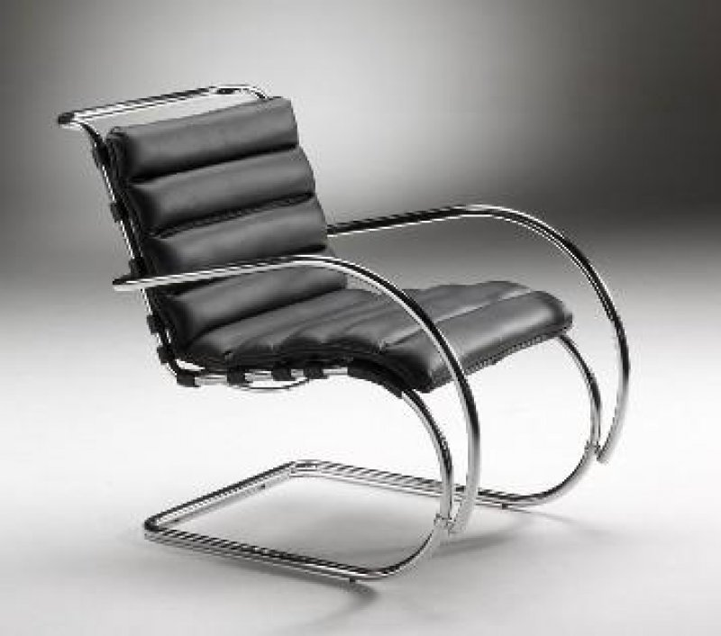 Mies van der rohe lounge chair van der rohe design 60 cm x 84 h 92