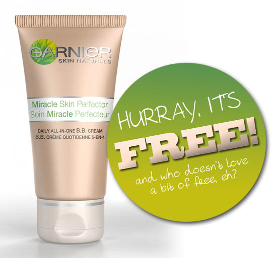 Ad Alert Free Samples of Garnier BB Cream - Hurry, They\u0027re Going