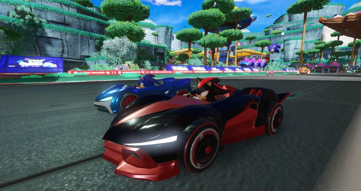 Fast And Furious 6 Cars Hd Wallpaper Team Sonic Racing Un Jeu De Courses Sonic En Fuite Avant