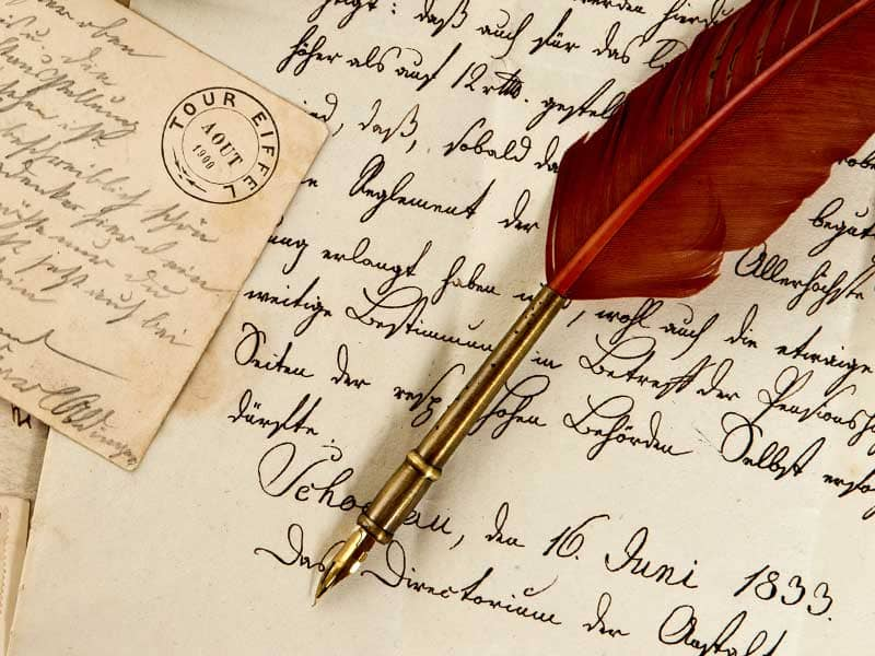 The Value of the Handwritten Letter Art of the Handwritten Letter