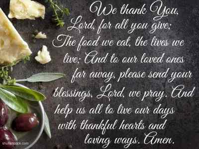 5 Great And Quick Prayers Before Meals Beliefnet