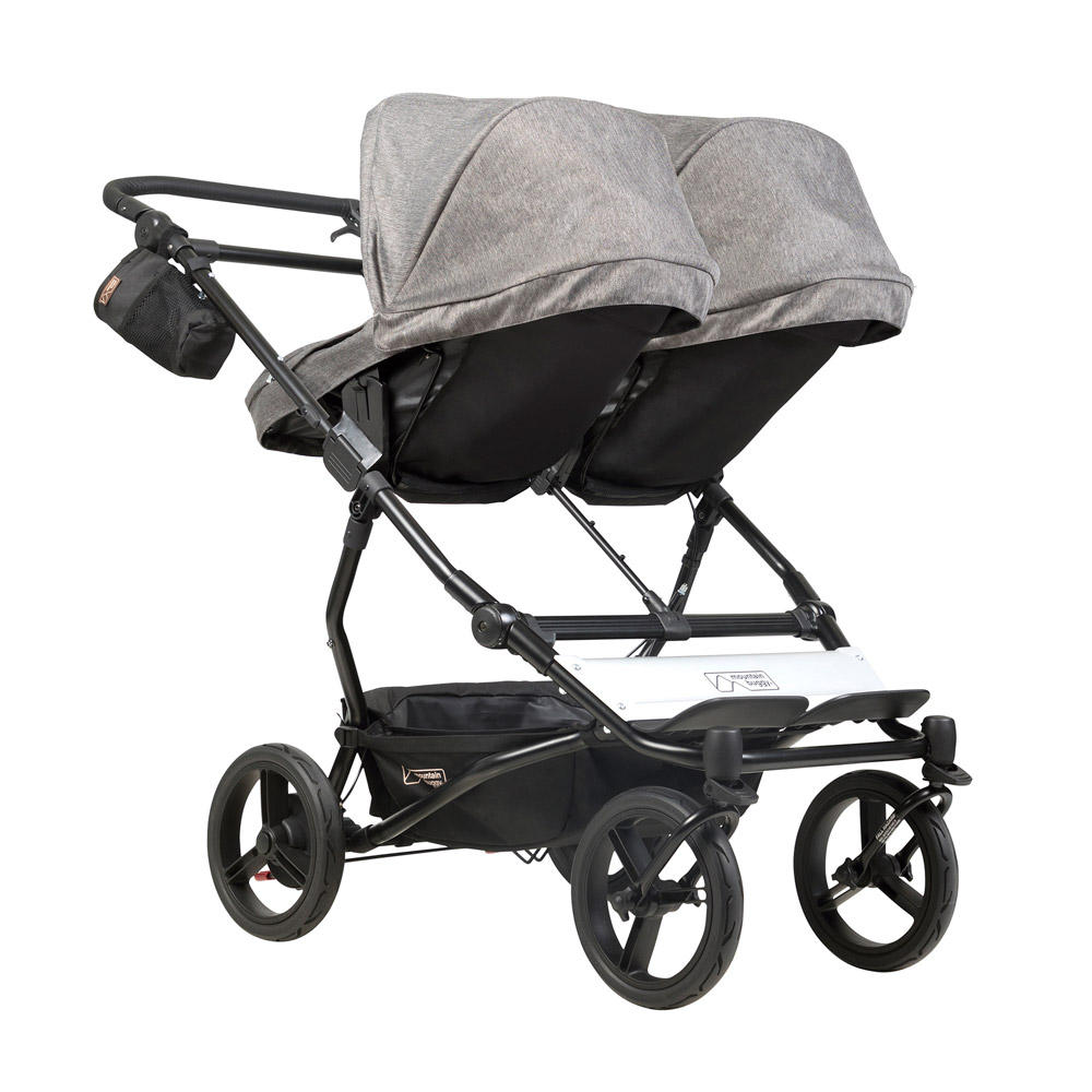 Mountain Buggy Zum Joggen Carrycot Plus Baby Carrycot For Mountain Buggy Duet Herringbone Luxury Collection