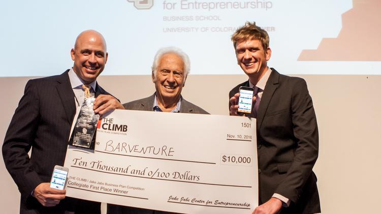 Bar app startup wins 1st at CU Denver business plan competition