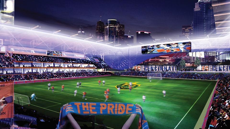 FC Cincinnati unveils stadium plans SLIDESHOW - Cincinnati Business