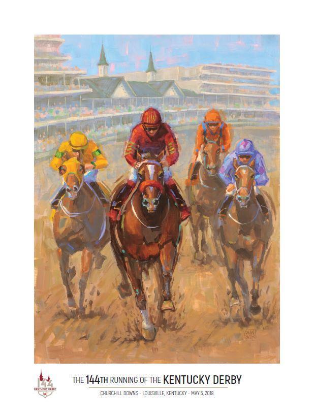 Churchill Downs unveils Kentucky Derby, Oaks posters - Louisville