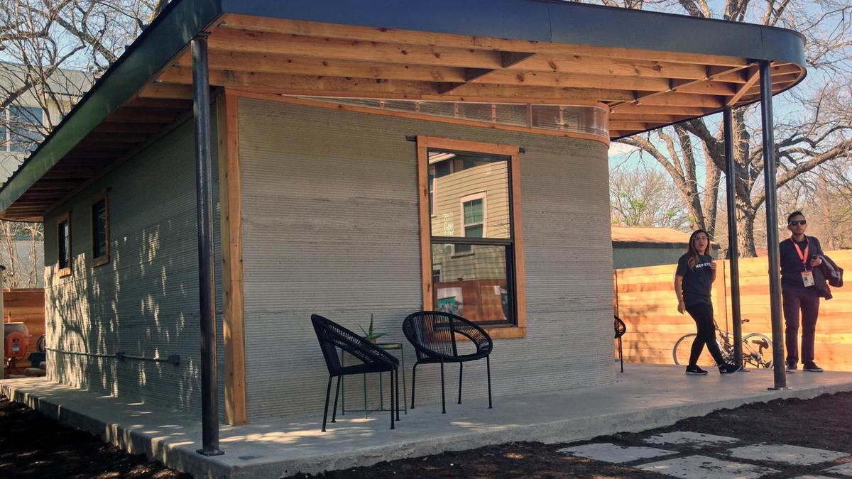 3d Home Inside A 3d Printed Tiny Home That Costs Less Than A Car At Sxsw