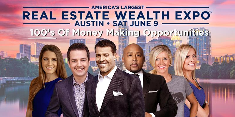 Real Estate Wealth Expo Featuring Tony Robbins  Daymond John