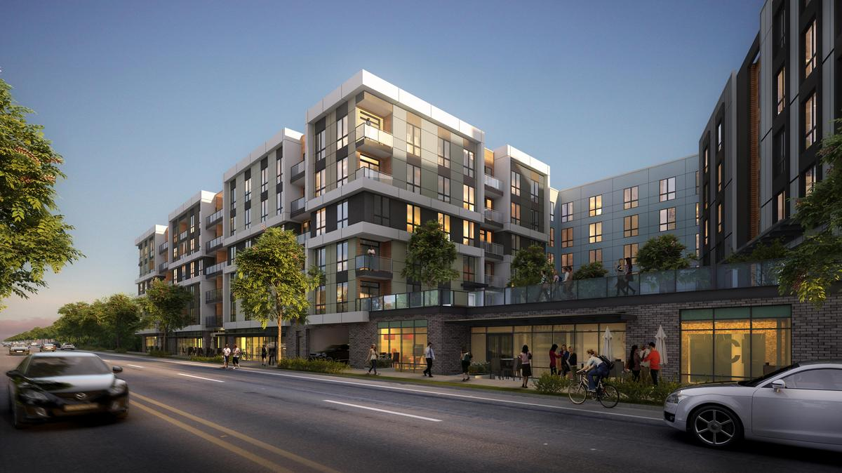 Arete Kirkland Apartments Nearly 340 More Apartments Are Planned For Kirkland S Totem Lake
