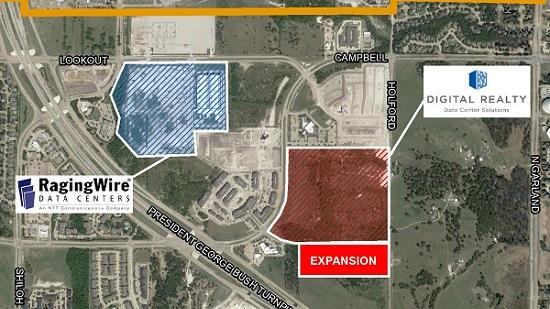 Digital Realty to expand Garland data center with $400M addition
