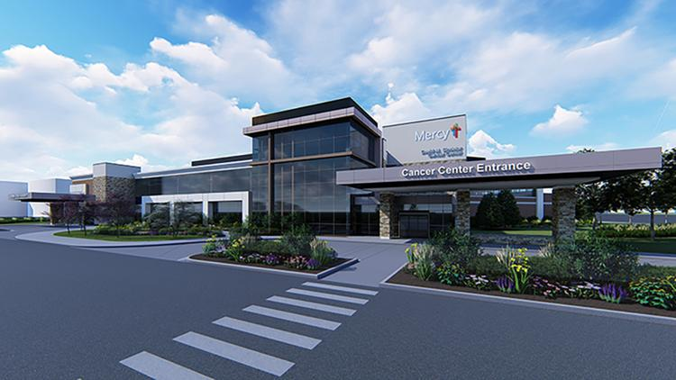 Mercy breaks ground on $54 million cancer center at St Anthony\u0027s