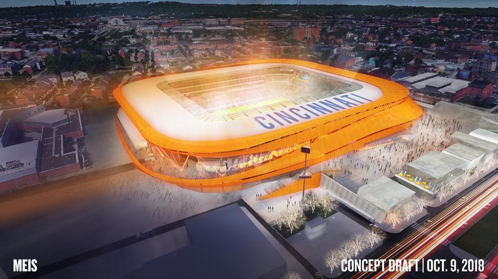 FC Cincinnati unveils stadium design (Video) - Cincinnati Business