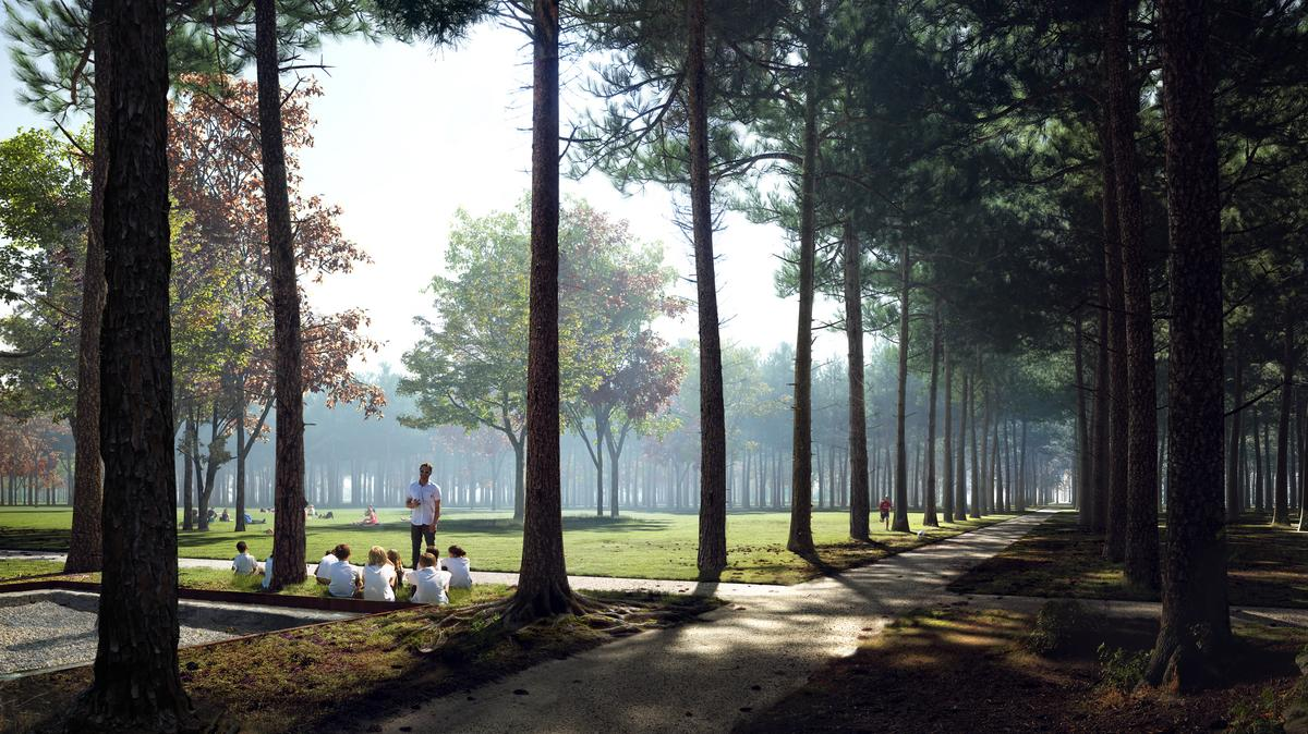Landscape Architect Houston Nbw Firm Behind Memorial Park Rothko Chapel Work Opens Houston