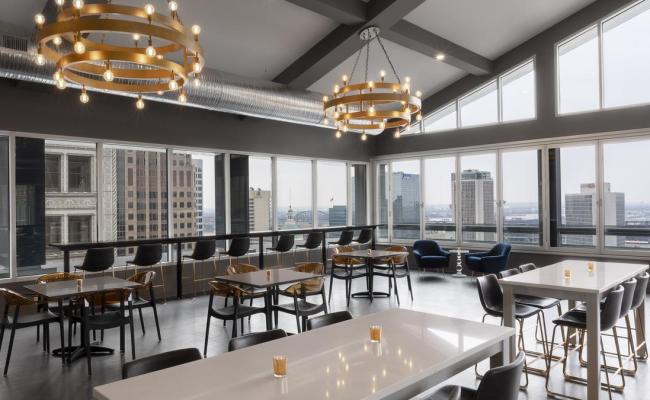 Hotel Saint Louis Opens Rooftop Bar St Louis Business Journal