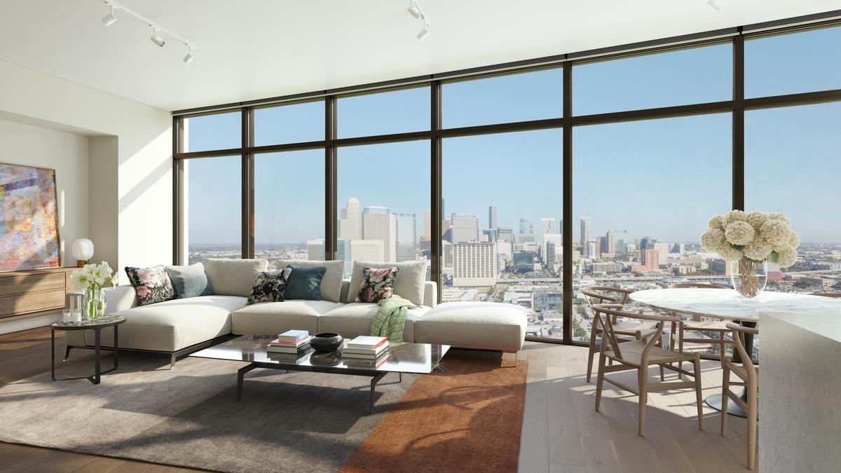Garage Apartment For Rent Midtown Houston Caydon Unveils Name Other Details For Houston Multifamily Tower