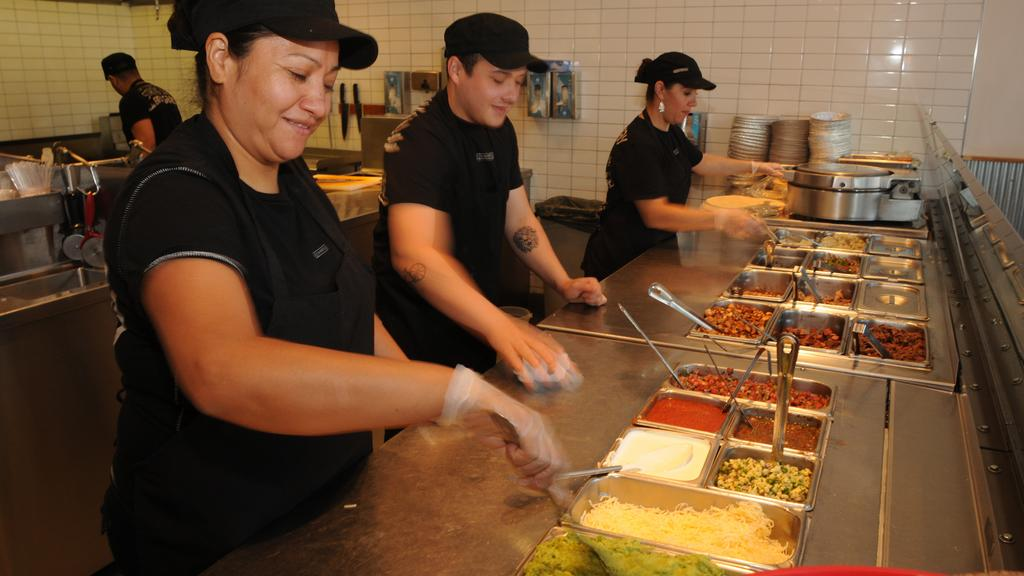Chipotle shares downgraded; analyst says employees are paid too much