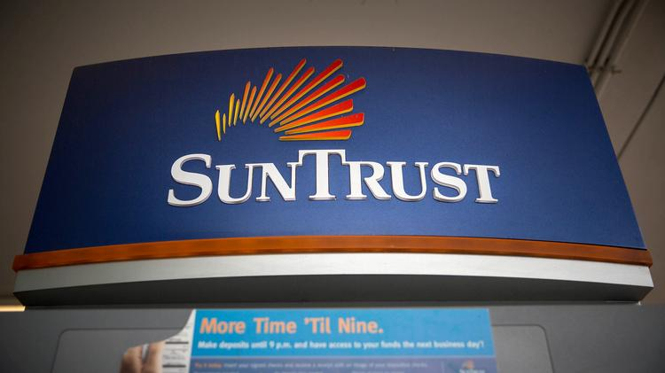 Stress test projects $57B in loan losses at SunTrust in severe