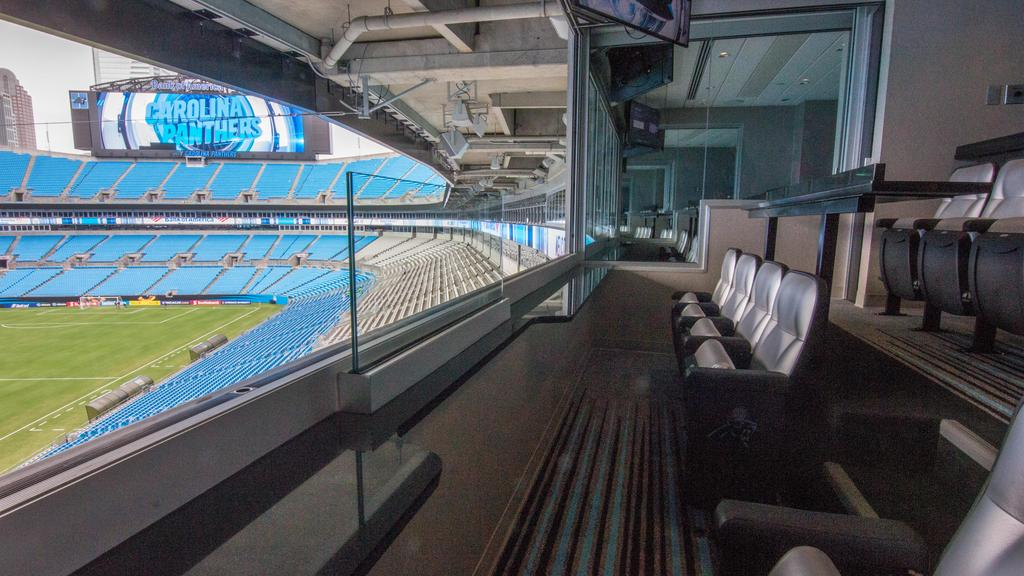 Carolina Panthers unveil newly renovated luxury suites at Bank of