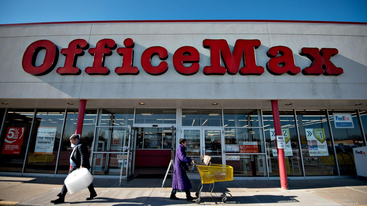 Office Stores Natomas Officemax Closing In May Sacramento Business Journal