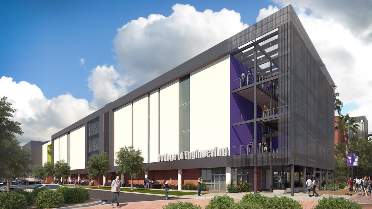 Construction Engineering Building And Grand Canyon University Has 400 Million In Construction Projects