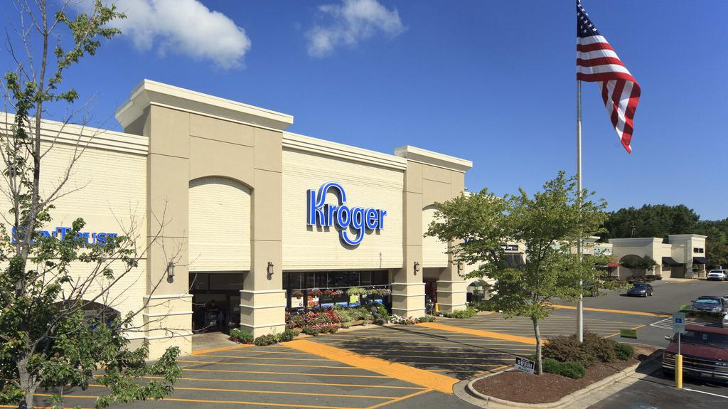 Towne North retail center anchored by Kroger in north Raleigh sells