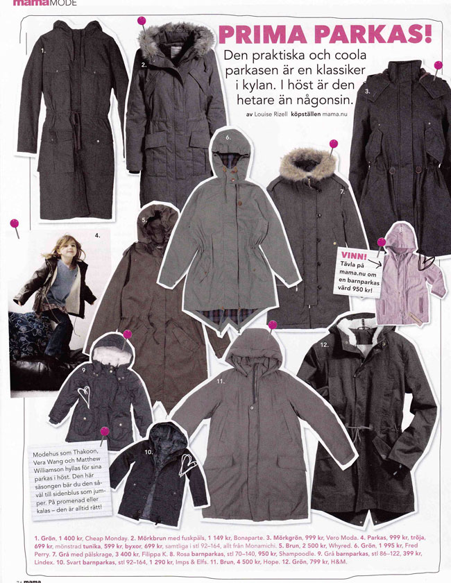 Orchid Parka in Mama 12