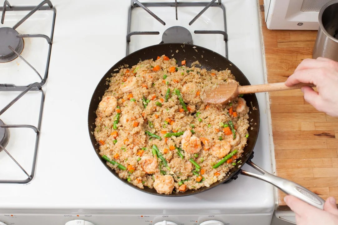 Recipe Shrimp Quinoa \