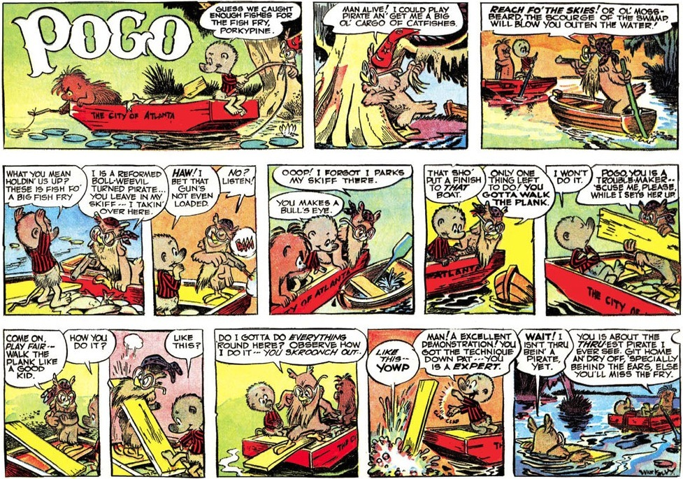 Pogo walt kelly comic strip