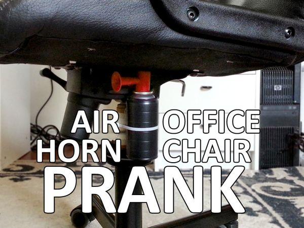 Air Horn Office Chair Prank Boing Boing