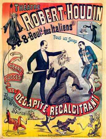 Robert houdin decapitation