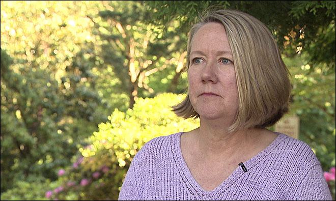 Sue Bales, victim of the crazy guy on acid who identified himself as a High Elf. (KATU)