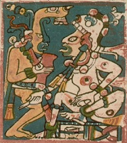 Hunahpu-and-Xbalanque-Maya-Codex-at-Dresden