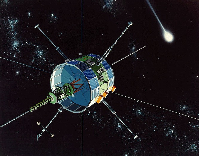 ISEE-3, artist's rendition.