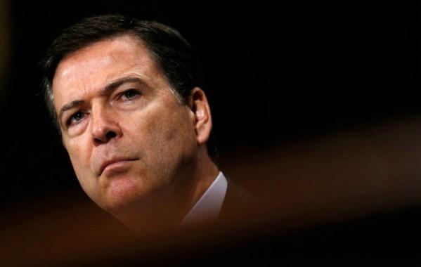 FBI Director James Comey, 2014.  [REUTERS]