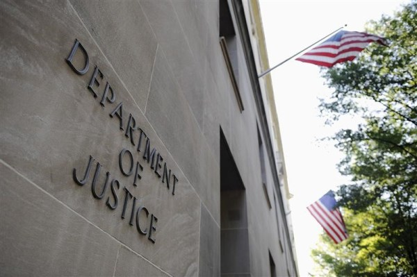 Exterior of U.S. Department of Justice building in DC. Photo: Reuters.