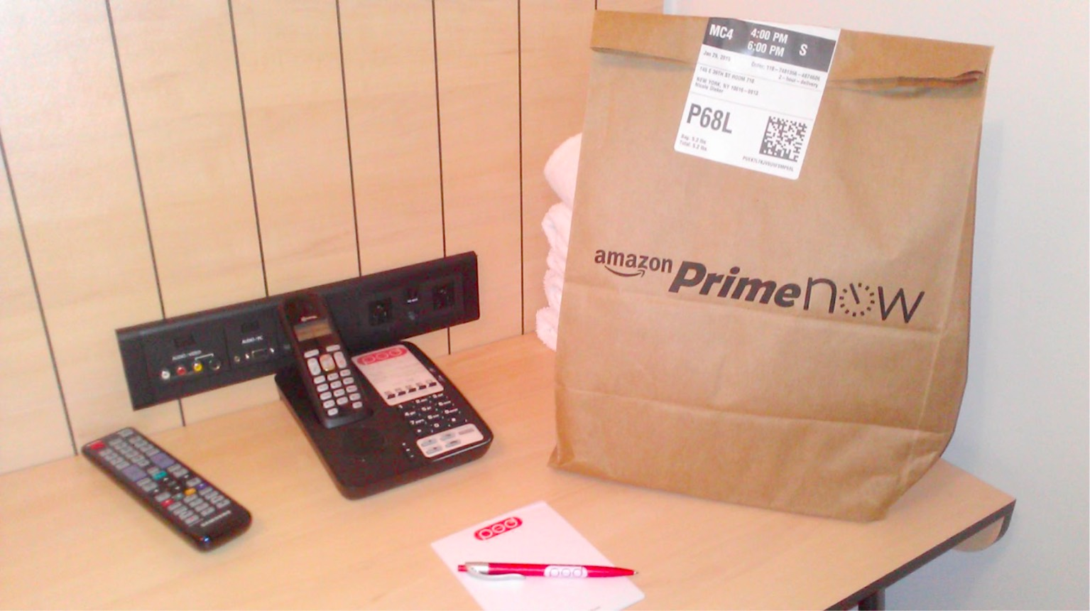 Amazon Now Less Time More Packaging Amazon Prime Now Tested Boing Boing