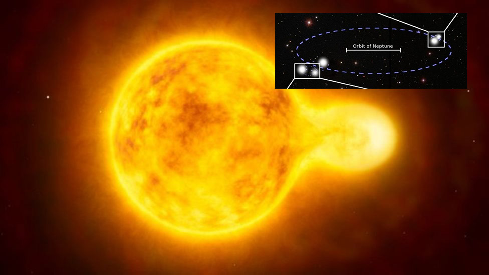 Awesome 5-star solar system with two contacting pairs ...