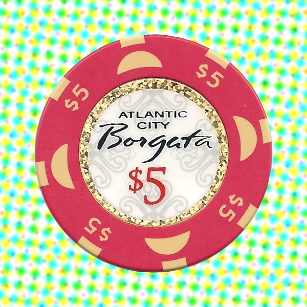 fake poker chips borgata