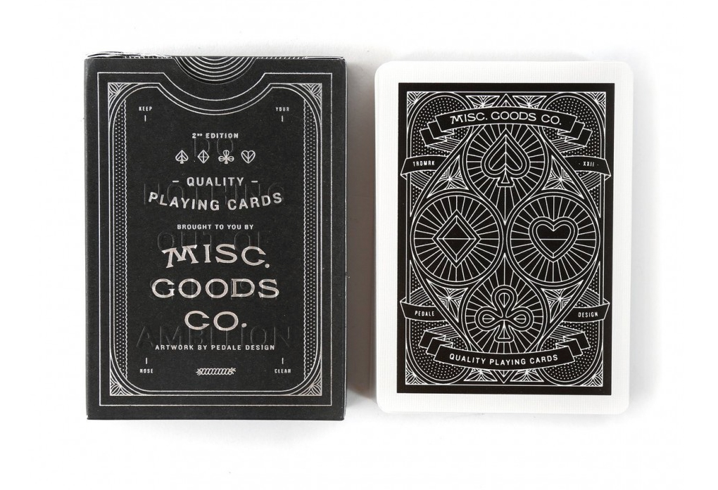 The Playing Card Design of MISC GOODS CO / Boing Boing