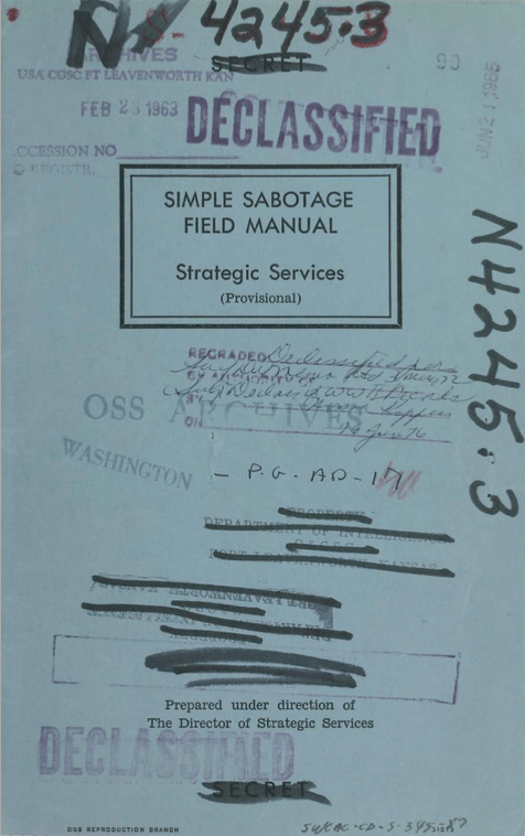 Simple-Sabotage-Manual
