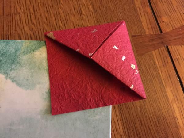 Origami-Bookmark