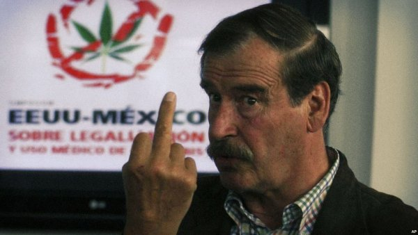 Vicente Fox. Yes, it's 'shopped.