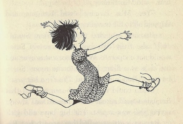 Ramona Quimby illustration by Louis Darling